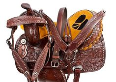 """Studded Heart Western Leather Barrel Racing Trail Horse Saddle Package (15"""") AceRugs http://www.amazon.com/dp/B00R5AGBVK/ref=cm_sw_r_pi_dp_jyZivb1N4FFKX"""