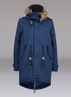 I want this blue Parka