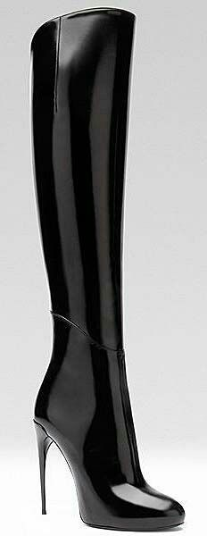 Gucci - Women's Shoes - 2013 Fall-Winter I want these boots! Just i wish the heel was lower. Sexy Boots, High Boots, High Heels, Black Boots, Heeled Boots, Bootie Boots, Talons Sexy, Hot Shoes, Women's Shoes