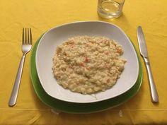 Mote de trigo guisado Risotto, Veggie Recipes, Veggie Food, Veggies, Healthy, Ethnic Recipes, Sweet, Matilda, Foodies