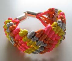 DIY Friendship bracelet from 1001perlessmykkeblog