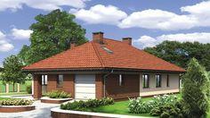 Projekt domu Murator M132 Wariantowy 128,20 m² - koszt budowy - EXTRADOM Simple House Plans, Modern House Plans, House Layout Plans, House Layouts, Hut House, House Construction Plan, Sims House Design, Home Projects, Gazebo
