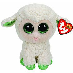 Ty Beanie Boo Lala White Lamb Medium Plush Features : Official product from Ty's wildly popular Beanie Babies Collection Color : white Product dimensions : L: 10 x W: Ty Animals, Ty Stuffed Animals, Plush Animals, Stuffed Toys, Ty Beanie Boos Collection, Ty Peluche, Ty Toys, Kids Toys, Baby Doll Toys