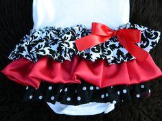 Tier Ruffle Baby Dress - Baby Girl Ruffle Dress Onesie -- Ruffle Butt Dress Infant Girl (Custom Orders Welcome) Baby Girl Dresses, Baby Dress, Onesie Dress, My Baby Girl, Baby Love, Baby Baby, Ruffle Dress, Ruffles, Holiday Outfits