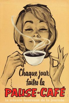 French coffee ad.