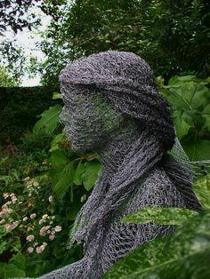 Derek Kinzett Intricate Wire Sculptures