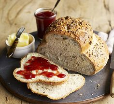 A fail-safe bread recipe that produces the perfect loaf- once you've mastered it, try swapping flours and altering the shape