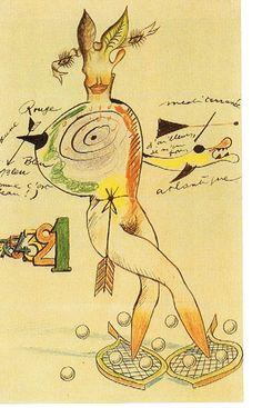 André Breton, Jacqueline Lamba, Yves Tanguy, 1940 - cadavre exquis