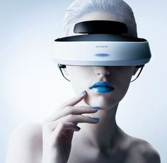 "PlayStation 4 VR headset PlayStation 4 VR headset "" Sony's PlayStation 4 virtual reality headset will finally be unveiled next month at GDC a new report suggests. Sony's personal Virtual Reality Games, Virtual Reality Headset, Augmented Reality, Cool Technology, Wearable Technology, Technology Gadgets, Wearable Device, Technology Design, Playstation"