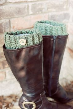 Chunky Crochet Boot Cuff  Boot sock  Boot Candy by SweetTsBoutique, $20.00