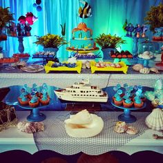 Memories Party: Tema Fundo do Mar