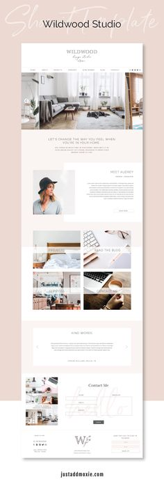 Best Home Decoration Magazine Layout Design, Web Layout, Website Design Inspiration, Ui Inspiration, Business Inspiration, Sistema Visual, Entrepreneur, Wordpress, Interior Design Website