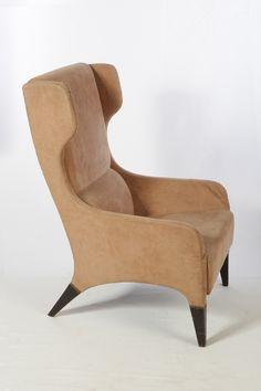 Gio Ponti; Unique Armchair for Hotel Parco dei Principi in Roma, 1964.