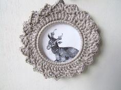 Crochet wreath, crochet hoop, wall hanging £8.00 Crochet Wreath, Crochet Bebe, Crochet Motif, Crochet Designs, Crochet Hooks, Crochet Patterns, Blanket Crochet, Handmade Decorations, Handmade Crafts