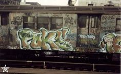 Subway Graffiti back in the '70's