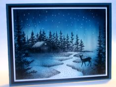Northern Lights by annascreations - Cards and Paper Crafts at Splitcoaststampers