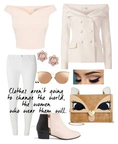 Pastel Power by mythicalmeli on Polyvore featuring polyvore, fashion, style, Faith Connexion, Dorothy Perkins, Nine to Five, Betsey Johnson, Linda Farrow, clothing, WorkWear, chic, classy, pastels and summertofall