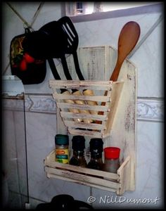 Vila Dumont: Cachepôs de Cozinha e Utilidades - Veja a postagem e faça você também os seus: