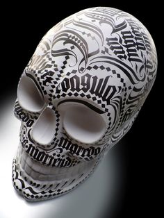 «Calivera» for Skull Parade by MEAVE, via Behance