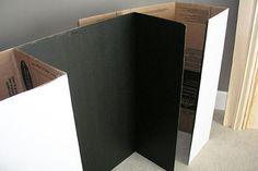 decoracion de chimeneas de carton - Buscar con Google