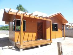 Casa pré-fabricada palhoça