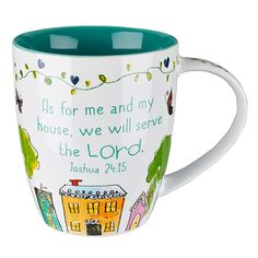 "Everyday Blessings ""Bless Our Home"" Mug - Joshua 24:15 