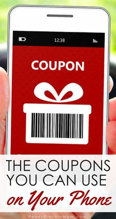 Life Hacks : The Best Mobile Coupon Apps To Save You Money Money Saving Tip: Use coupons on your phone to save more money at the grocery store.