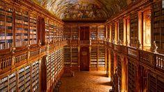 Strahov Abbey Kütüphanesi, Prag, Çek Cumhuriyeti