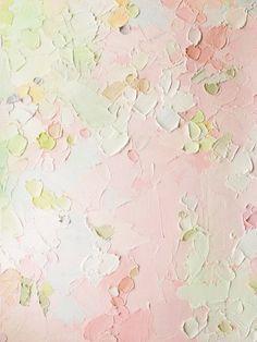 Kostadina Nacheva Abstract art painting  Pale colors
