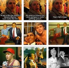 Yes Niall you may love Obama  but you realize he caused more debt in our country then all of our past presidents combined!