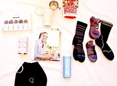 Mood, Mind and Food Boost - Upgrade your mind, mood and food with the latest #BabbleBoxxNewYear. Check ot what came inside and my goals I have planned for 2017. #justwater #oprah #teaforte #foodhealthhappiness #foodasitshouldbe Made In Nature Tea Forte FITS Sock Co. EQUAL