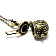 Items similar to Genie in a Bottle Necklace // Brass Locket // Brass Chain Necklace // Secret Places (Last Piece) on Etsy Crystal Jewelry, Crystal Beads, Crystals, Bottle Necklace, Locket Necklace, Genie In A Bottle, Handmade Jewelry, Unique Jewelry, Brass Chain