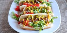Grilled Chicago Dogs Recipe
