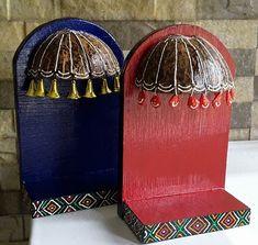 Cd Crafts, Diy Crafts For Gifts, Diy Home Crafts, Diy Arts And Crafts, Craft Stick Crafts, Ganpati Decoration Design, Thali Decoration Ideas, Diy Diwali Decorations, Diwali Diy