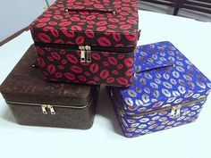 Train Case (I want the one with the red lips or the gold lips)
