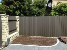 weather resistant plastic picket fence Brisbane #beautiful #durable #garden #fence