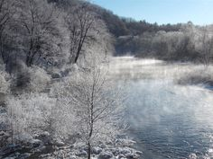 Home Sweet Home, Tionesta, PA. Even though I don't like winter much... but this is just pretty!