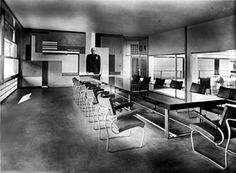 Interno casa del Fascio a Como - G. Terragni (1932-1936)