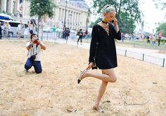 Soo Joo Park at the Fall 2015 couture shows