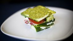 A lasagna you don't need to bake? Make this summery no-cook version!