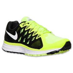 ... nike zoom vomero 8 nike mens running shoes black reflective silver volt  ...