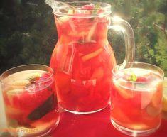 Dinnyebólé | Pálmafa Project Mason Jars, Alcoholic Drinks, Food And Drink, Yummy Food, Wine, Mugs, Tableware, Smoothie, Foods