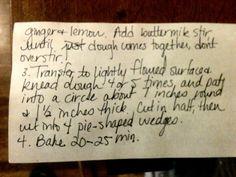 Page 2 of scone recipe