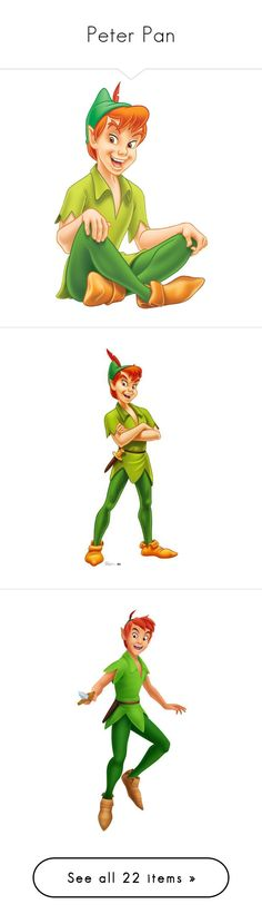 """Peter Pan"" by asia-12 ❤ liked on Polyvore featuring disney, peter pan, characters, fillers, wendy, backgrounds, wendy darling, disney characters, character and tinkerbell"