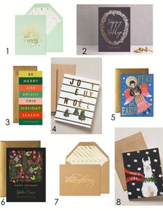 Holiday Cards 2014 – Beijos Must Haves