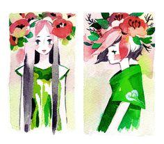 flower crowns by koyamori.deviantart.com on @deviantART