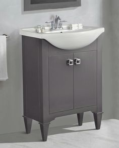 "Lowest price on Legion Furniture 24"" Gray Sink Vanity WLF6045-G . Shop today!"