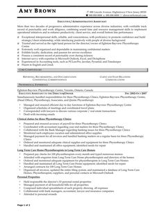 Resume Summary Administrative Assistant  Resume Info