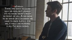 Discover and share the most famous quotes from the TV show The Flash. Why Quotes, Hero Quotes, Tv Show Quotes, Movie Quotes, Life Quotes, The Flash Quotes, Meaningful Quotes, Inspirational Quotes, Flash Tv Series