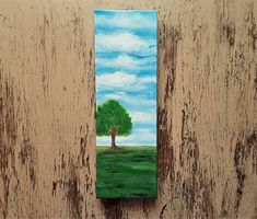 Nature painting Landscape painting Tree painting Spring painting Cloudy sky painting Free shipping US Sky Painting, Spring Painting, Seascape Paintings, Nature Paintings, Acrylic Painting Canvas, Your Paintings, House Painting, Landscape Paintings, Watercolor Paintings
